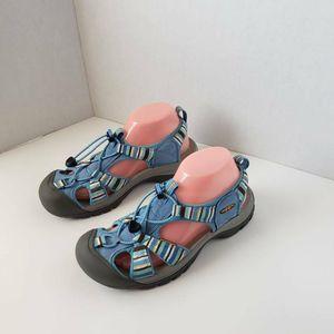 KEEN Womens Venice H2 Sport Sandals Blue Gray 9
